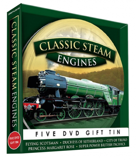 Classic Steam Engines. 5 DVDs.