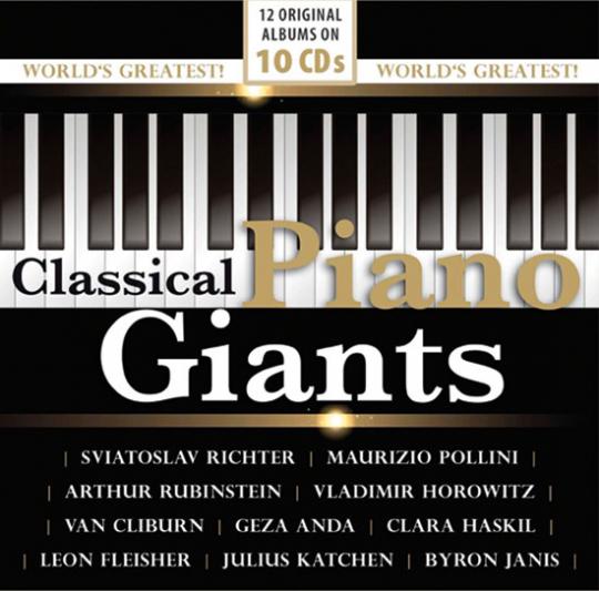 Classical Piano Giants. Die weltgrößten Pianisten.