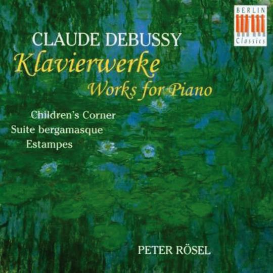 Claude Debussy. Klavierwerke. CD.