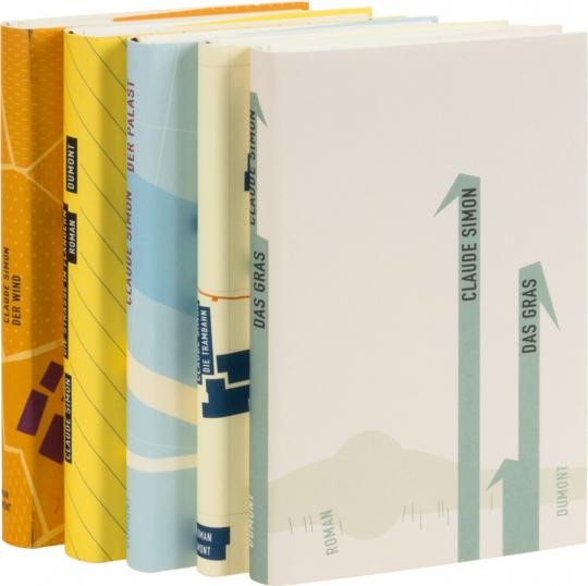 Claude Simon Paket. 5 Bände.