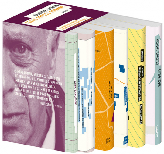 Claude Simon. Sechs Bände im Set.
