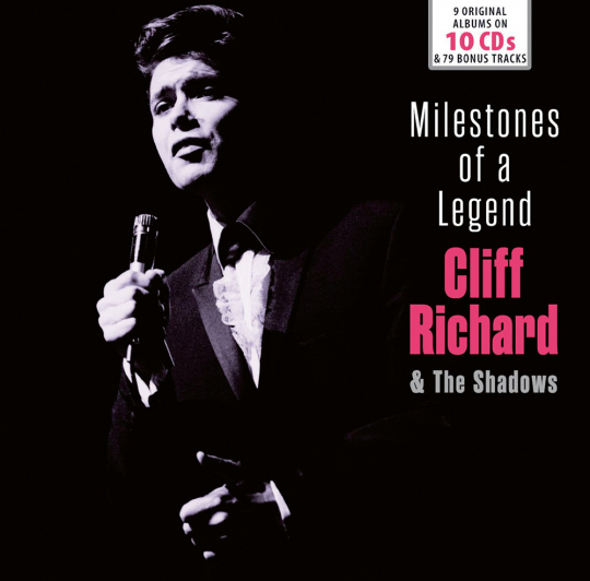 Cliff Richard & the Shadows. Milestones of a Legend. 10 CD-Set.