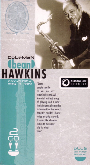 Coleman Hawkins. After You've Gone / Lamentation. Classic Jazz Archive. 2 CDs.