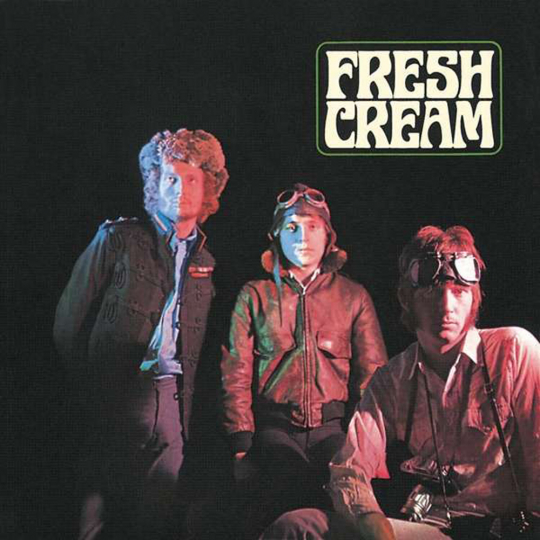 Cream. Fresh Cream (Limited-Deluxe-Edition). 3 CDs, 1 Blu-ray Audio.