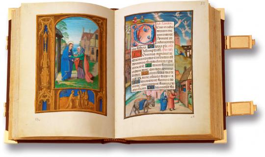 Croy-Gebetbuch. Das Buch der Drôlerien. Faksimile und Kommentarband. Vorzugsausgabe. Limitierte und nummerierte Auflage.