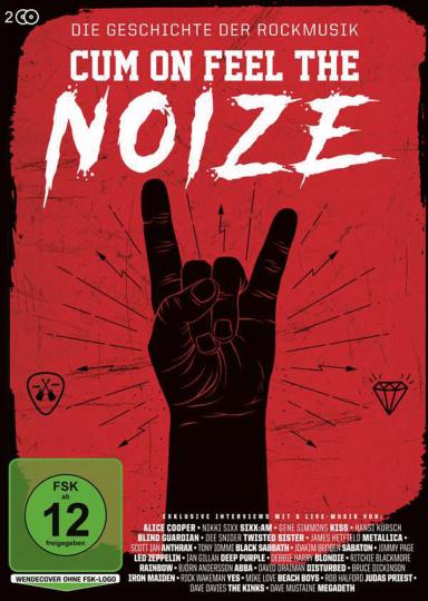 Cum On Feel The Noize - Die Geschichte der Rockmusik. 2 DVDs.