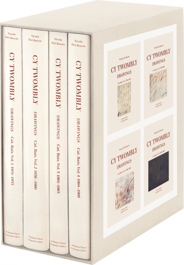 Cy Twombly. Drawings. Catalogue Raisonné. Vol. 1 - 4: 1951-1969.