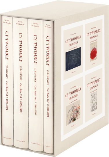 Cy Twombly. Drawings. Catalogue Raisonné. Vol. 5 - 8: 1970-2011.