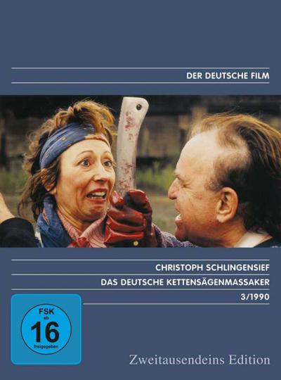 Das deutsche Kettensägenmassaker. DVD.
