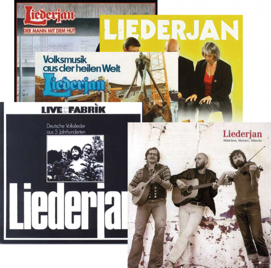 Das Liederjan Paket. 5 CDs.
