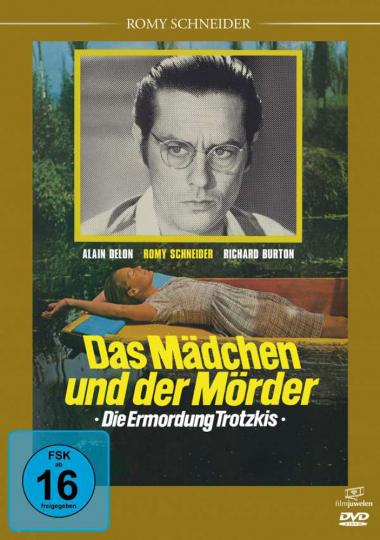 Das Mädchen und der Mörder (Die Ermordung Trotzkis). DVD.