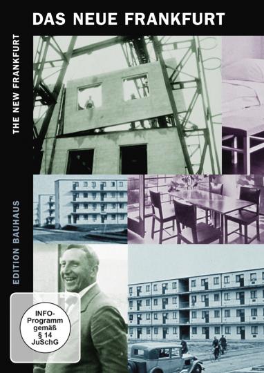 Das Neue Frankfurt. Neues Bauen in den 1920er Jahren. DVD.