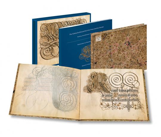 Das Schreibmeisterbuch des Franz Joachim Brechtel.