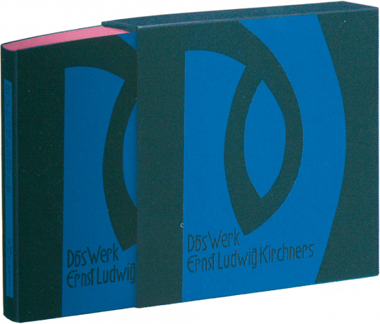 Das Werk Ernst Ludwig Kirchners. Faksimile. Limitierte und nummerierte Auflage.