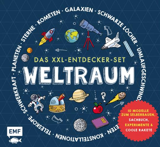 Das XXL-Entdecker-Set Weltraum.