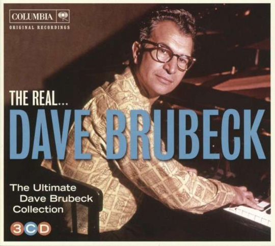 Dave Brubeck. The Real... Dave Brubeck. 3 CDs.