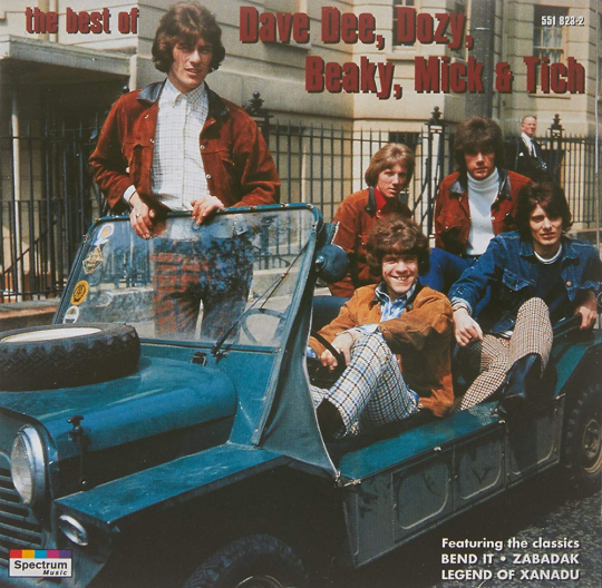 Dave Dee, Dozy, Beaky, Mick & Tich. The Best. CD.