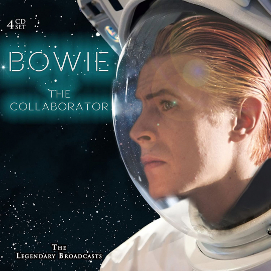 David Bowie. The Collaborator. Legendary Broadcasts. 4 CDs.