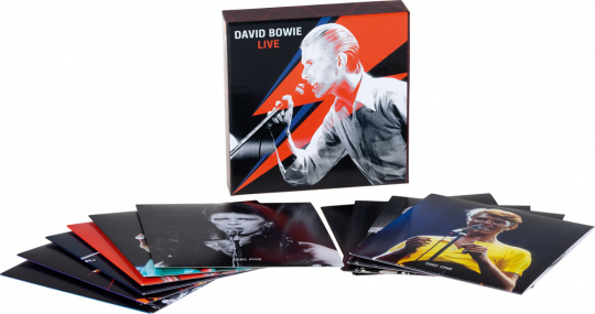 David Bowie. Live. 10 CDs.