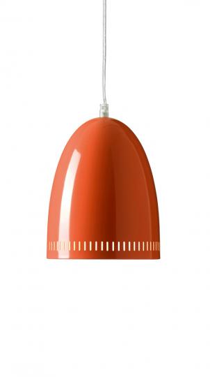Deckenlampe Dynamo, orange.