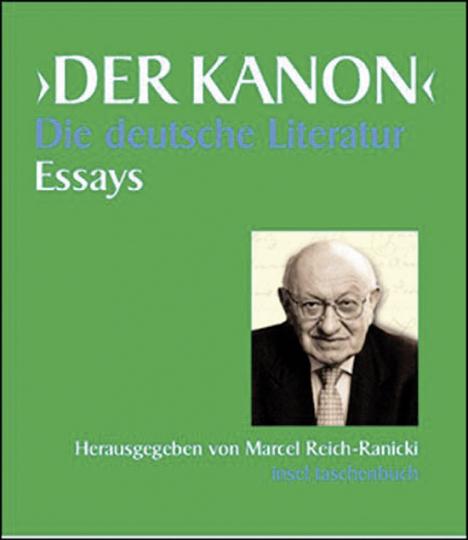 Der Kanon. Die deutsche Literatur. Essays. 5 Bände und ein Begleitband.