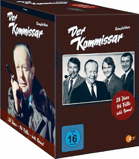 Der Kommissar (Komplette Serie). 24 DVDs.