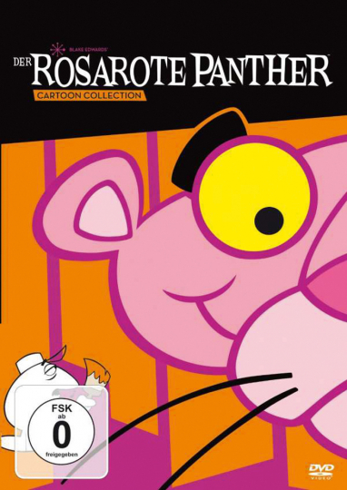 Der Rosarote Panther - Die Cartoon-Collection. 4 DVDs.