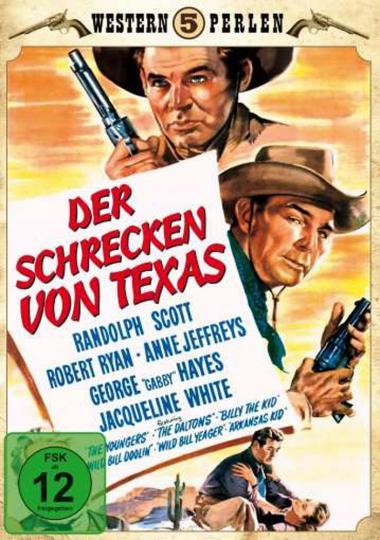 Der Schrecken von Texas. DVD.