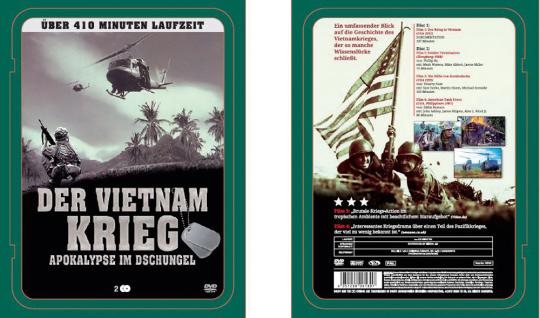 Der Vietnam Krieg. Apokalypse im Dschungel. 2 DVDs.