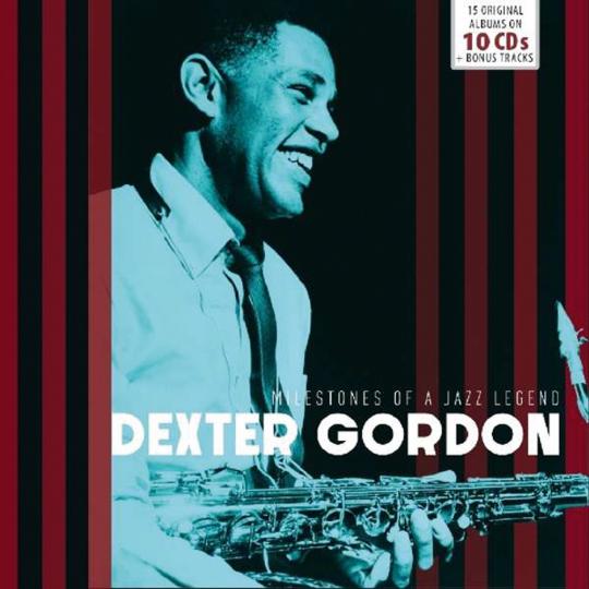 Dexter Gordon. Milestones Of A Jazz Legend. 10 CDs.