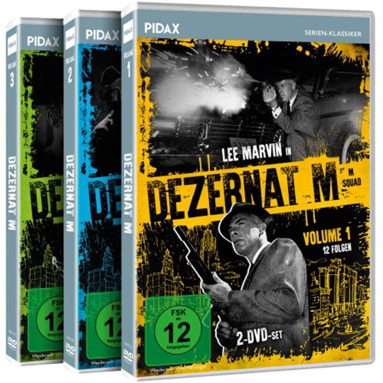 Dezernat M. 6 DVDs.