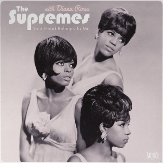 Diana Ross & The Supremes. Your Heart Belongs To Me. LP.