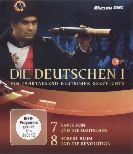 Die Deutschen. Staffel 1, Episode 7 & 8. Blu-ray.