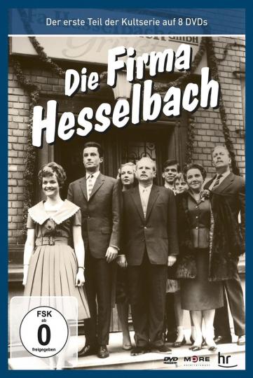 Die Hesselbachs: Die Firma Hesselbach (Teil 1 der Kultserie). 8 DVDs.