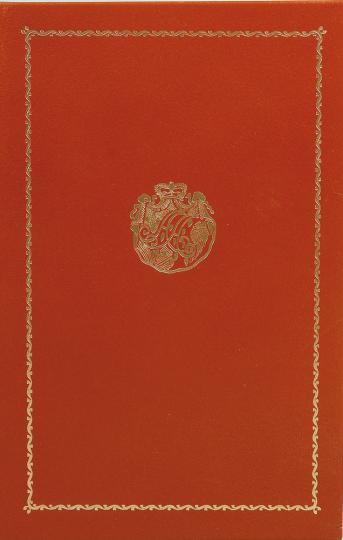 Die Geschichte der Herzogin Anna Amalia Bibliothek. Vorzugsausgabe.