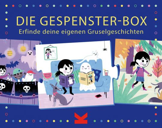 Die Gespenster-Box. Erfinde deine eigenen Gruselgeschichten.