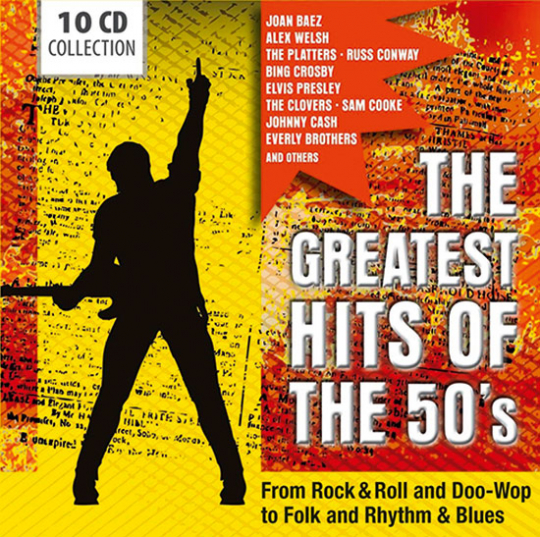 Die größten Hits der 50er. The Greatest Hits of the 50's.
