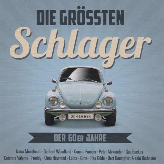 Die größten Schlager der 60er Jahre. Folge 1. CD.