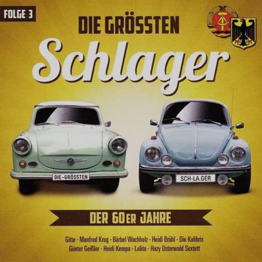 Die größten Schlager der 60er Jahre. Folge 3. CD.