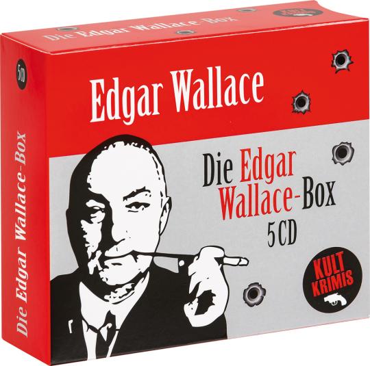 Die große Edgar Wallace-Box. 5 CDs.