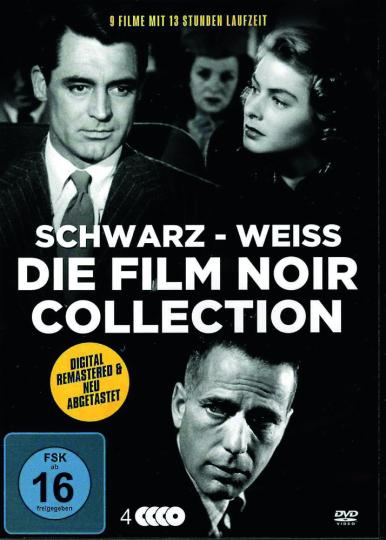 Die große Film Noir Collection (9 Filme auf 4 DVDs). 4 DVDs.