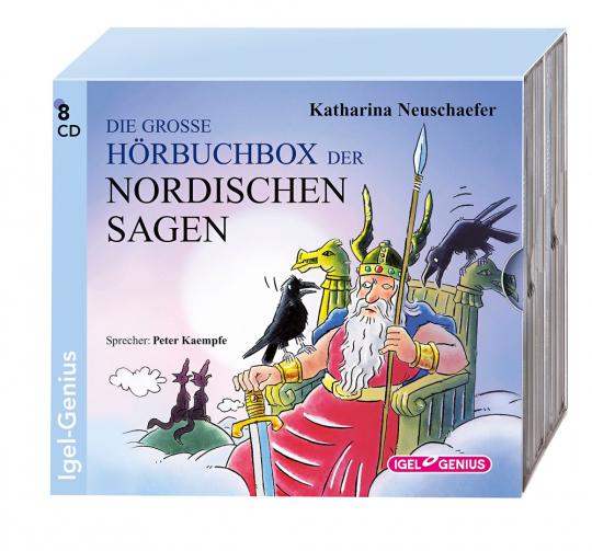 Die große Hörbuchbox der Nordischen Sagen. 8 CDs.