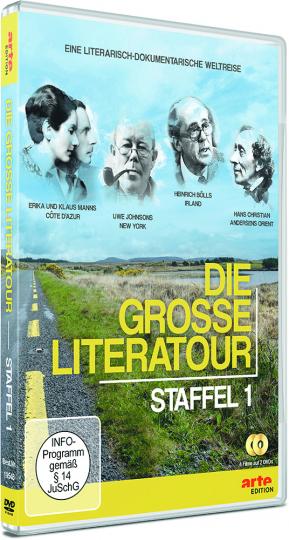 Die große Literatour. Staffel 1. 2 DVDs.