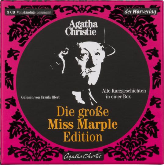 Die große Miss-Marple-Edition. Alle Kurzgeschichten in einer Box. 9 CDs.
