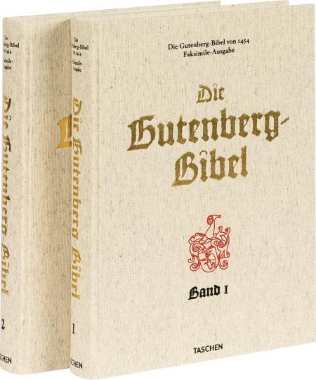 Die Gutenberg-Bibel von 1454. Vollständiger Nachdruck.