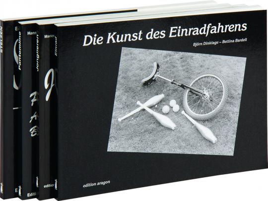 Die Kunst des Einradfahrens. Jonglieren. Stelzen. Pantomime. 4 Bände im Paket.