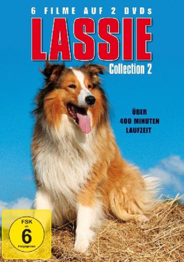 Die Lassie Collection 2. 2 DVDs.