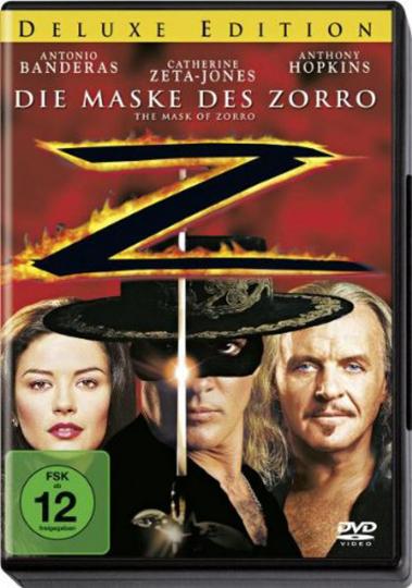 Die Maske des Zorro (Deluxe Edition). DVD.
