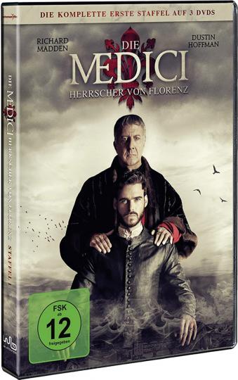 Die Medici Staffel 1 - Herrscher von Florenz. 3 DVDs.