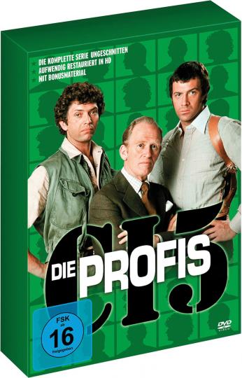 Die Profis (Komplette Serie). 21 DVDs.